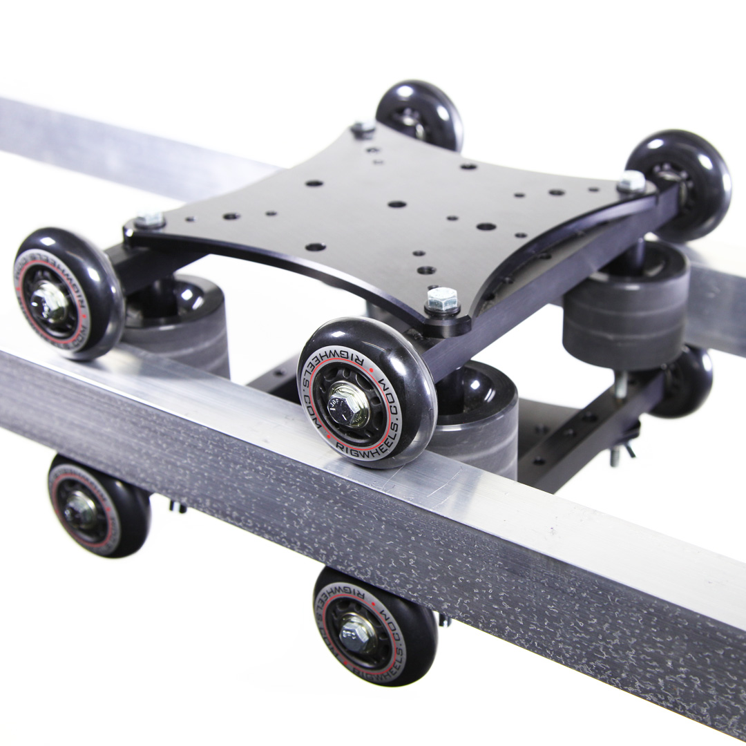 Two Wheel Dolly >> RigPlate Camera Cheese Plate for versatile camera mounting options